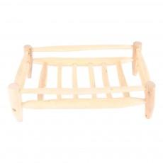 Smallable Home Cesta de madera rectangular 40x25cm-listing