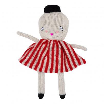 Lucky Boy Sunday Miss White Alpaca Wool Soft Toy 24cm-listing