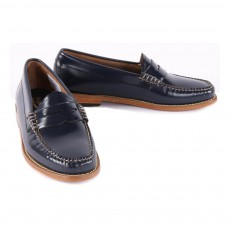Bass Leather Penny Loafers-listing