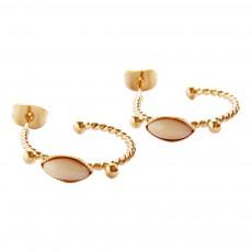 5 Octobre Leha Star Hoop Earrings-product