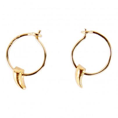 5 Octobre Talismans Précieux Jane Hoop Earring-listing