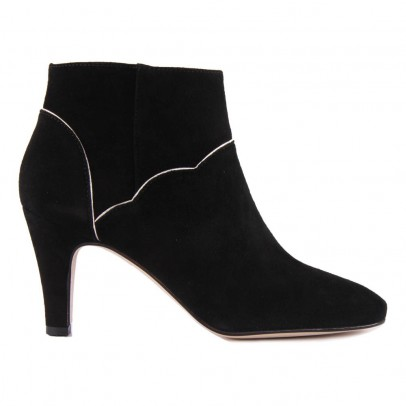 Petite Mendigote Boots Talons Suède Bambi-listing