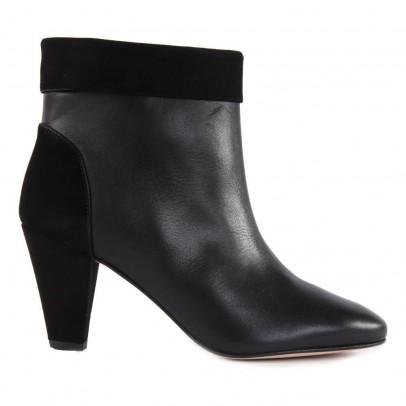 Petite Mendigote Boots Talons Cuir et Suède Argentiere-listing