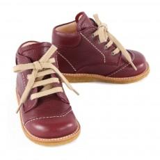 Angulus Chaussures Premiers Pas Cuir à Lacets Creek-listing