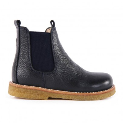 Angulus Bottines Cuir Grainé Chelsea Coupe-listing