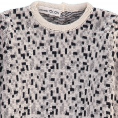 Pequeno Tocon Geometric Pattern Jumper-listing