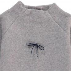 Pequeno Tocon Pull Mouflon Nœud-listing