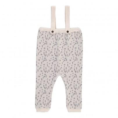 Pequeno Tocon Pantalon Bretelles Motifs Géométriques-listing