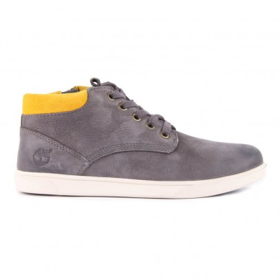Timberland Groveton Leather Trainers with Zip-listing