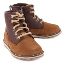 Timberland Boots Cuir et Suède Zippées Newmarket-listing