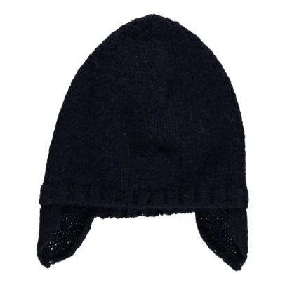 Aymara Boris Alpaca Wool Baby Bonnet-listing