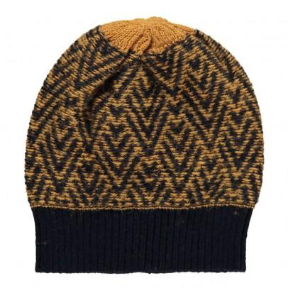 Aymara Bonnet Baby Alpaga Chevrons Bicolores Fredy-listing
