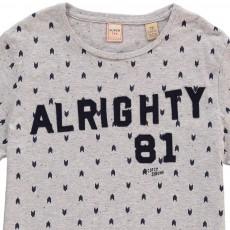"Scotch & Soda T-Shirt ""Alrighty 81"" Flèches-listing"