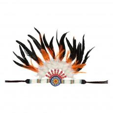 Smallable Toys Cinta para el pelo de india con plumas-listing