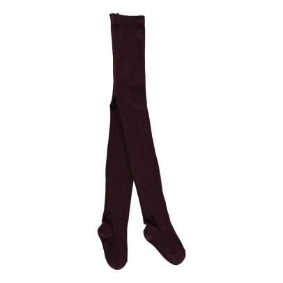 Caramel Pointelle Hemstitched Tights-listing