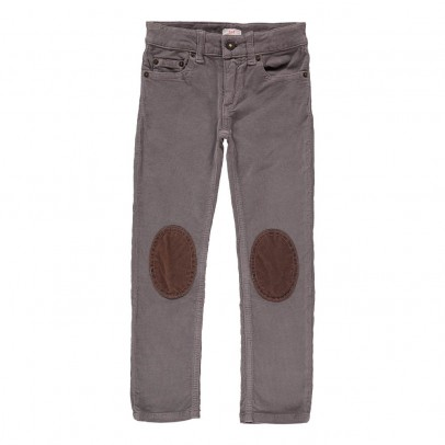 Zef Velour Ziggy Trousers with Kneepads-listing