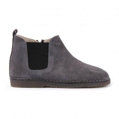 Babywalker Boots Suède Chelsea Zippées-listing