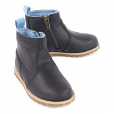 Timberland Pokey Pine Leather Boots with Zip-listing