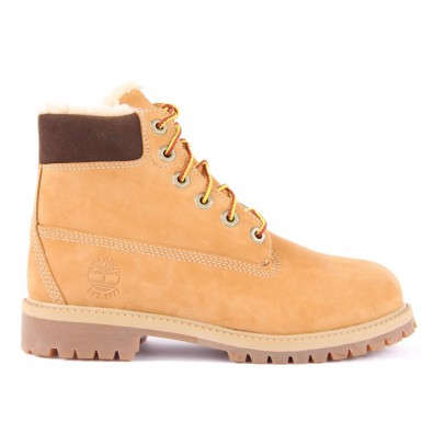 Timberland Boots Suède Fourrées 6In Premium-listing