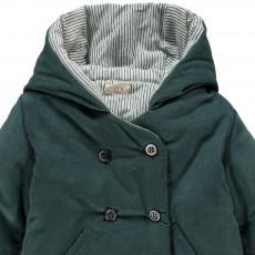 Ketiketa Hooded Velvet Coat-listing