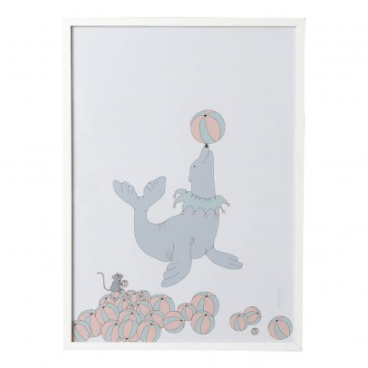 garbo&friends Póster Foca 50x70 cm-listing