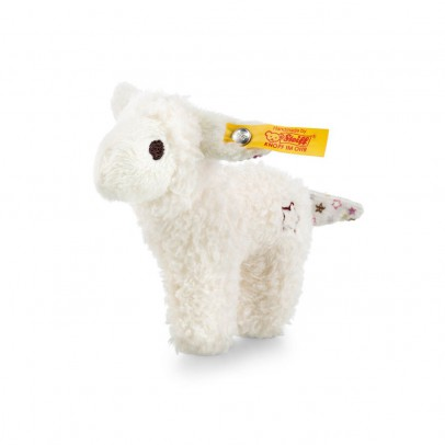 Steiff Mini Lamb with Rattle and Rustling- 11cm-listing