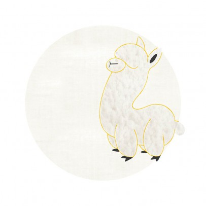 Un tapis à Paris x Baby Alpaga Teppich Baby Alpaka 95 cm-listing