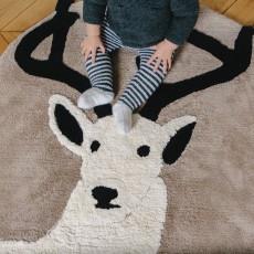 Un tapis à Paris x Baby Alpaga Teppich Hirsch 120 cm-listing