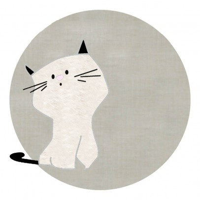 Un tapis à Paris x Baby Alpaga Teppich Katze 120 cm-listing