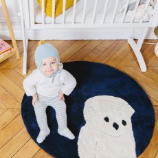 Un tapis à Paris x Baby Alpaga Tapis Chouette 95 cm-listing