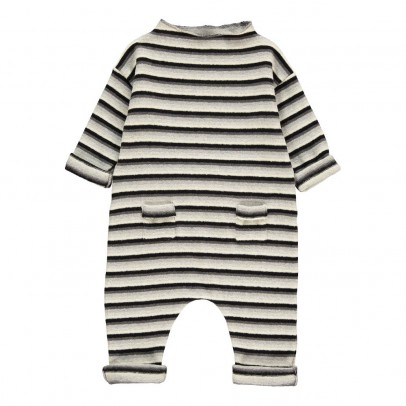 1+ IN THE FAMILY Miki Striped Jumpsuit-listing