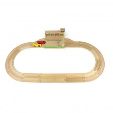 product-Ikonic Toys Wooden Racing Track and Cars