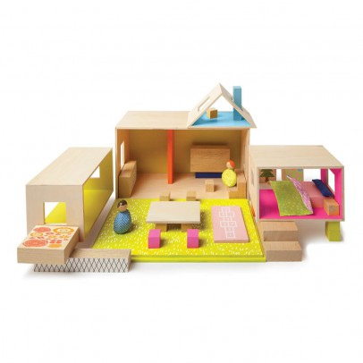 The Manhattan Toy Company Casa completa con 2 personajes-listing