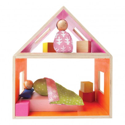 The Manhattan Toy Company Schlafzimmer mit 2 Figuren-listing