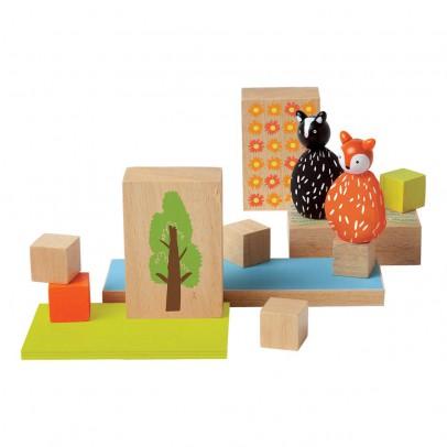 The Manhattan Toy Company Forêt avec 1 renard et 1 moufette-listing