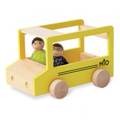 The Manhattan Toy Company School Bus with 2 Figurines-listing