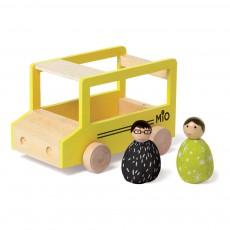 The Manhattan Toy Company Schulbus mit 2 Figuren -listing