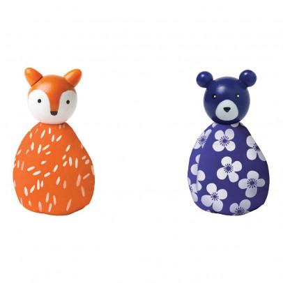 The Manhattan Toy Company 2 Tiere: Fuchs und Bär -listing