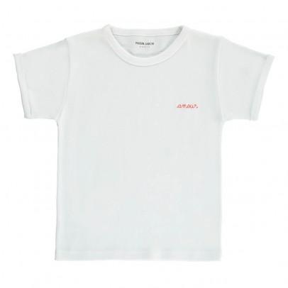 Maison Labiche Camiseta Bordada Amour-listing