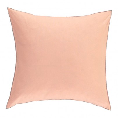 Smallable Home Cotton and silex lurex braid feather cushion-listing