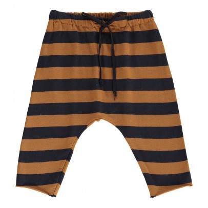 Babe & Tess Striped Harem Trousers-listing