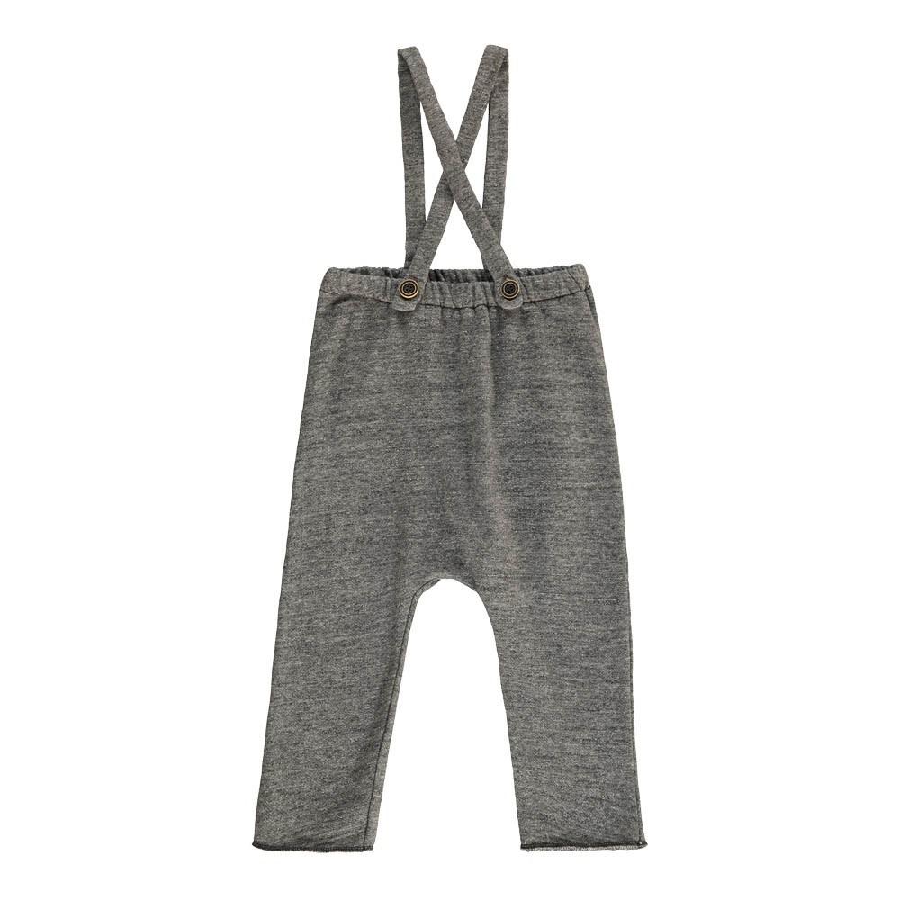 Pantaloni Mollettone Bretelle-product
