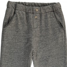 Babe & Tess Fleece Buttoned Trousers-listing