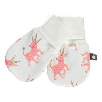 Oeuf NYC Organic Pima Cotton Unicorn Mittens-product