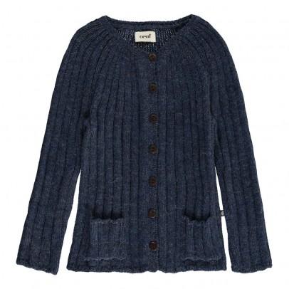 Oeuf NYC Alpaca Wool Rib Baby Caridgan-product