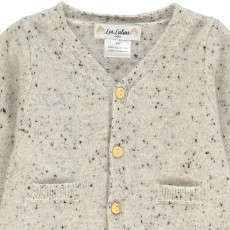 Les lutins Gabin Mottled Cashmere Cardigan-product