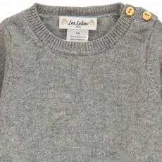 Les lutins Paul Wooden Button Cashmere Jumper-product