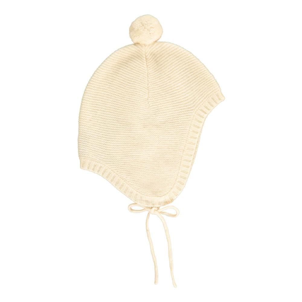 Les lutins Baptiste Pompom Link Cashmere Hat-product