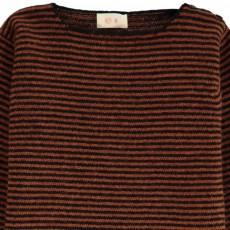 Ketiketa Baby Button Neck Stripe Jumper-listing
