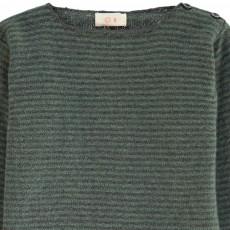 Ketiketa Maglione Righe Collo Camicia Neonato-listing